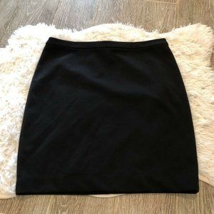 Michael Kors Womens Mini A Line Skirt Black Size 6